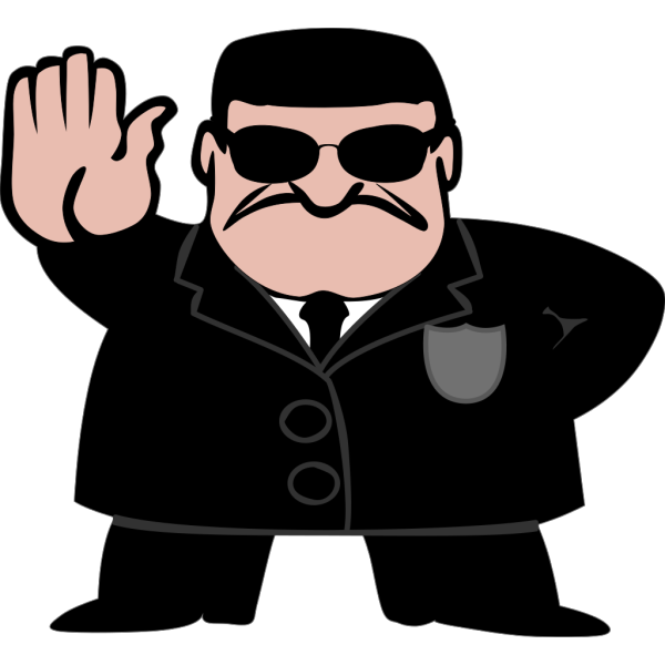 Fbi Dude PNG Clip art