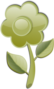 Green Flower PNG images