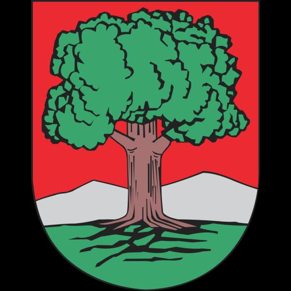 Oak Tree Walbrzych Coat Of Arms PNG Clip art