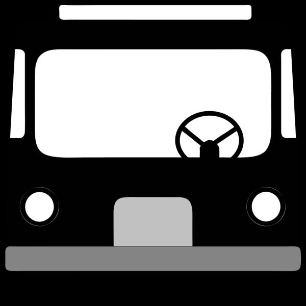 Bus Front View PNG Clip art