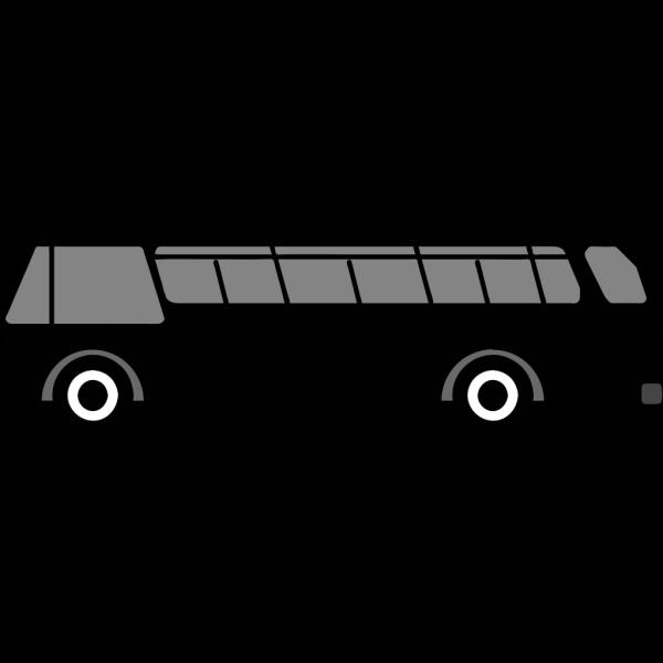 Bus Side View PNG Clip art