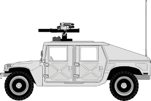 Armed Hummer PNG icons