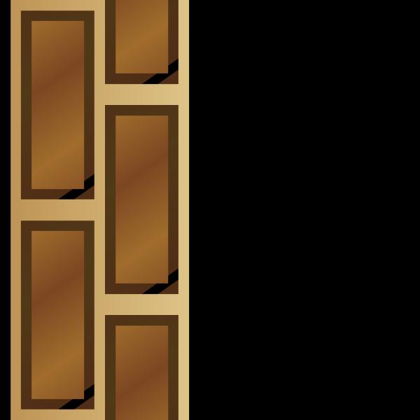 Rpg Map Brick Border Top Right PNG Clip art