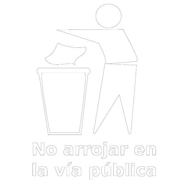 Spanish Trash Bin Sign PNG images