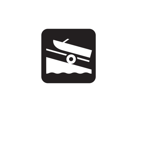 Boat Launch Black PNG images