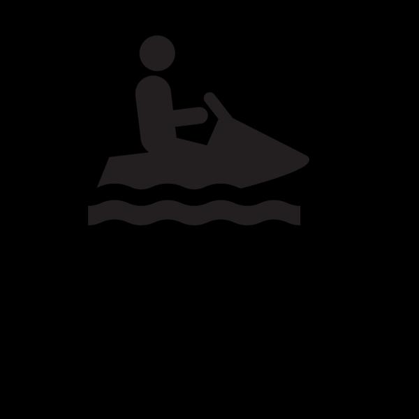 Jet Skiing PNG Clip art