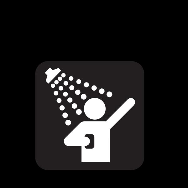 Showers Black PNG Clip art