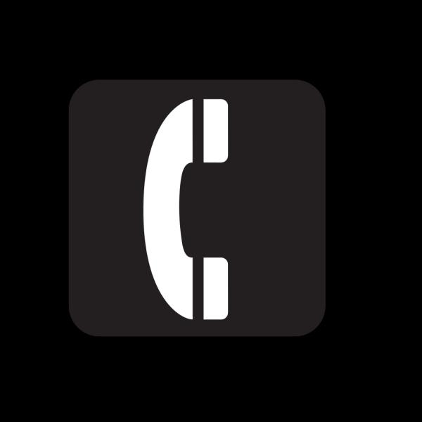 Telephone Black PNG Clip art