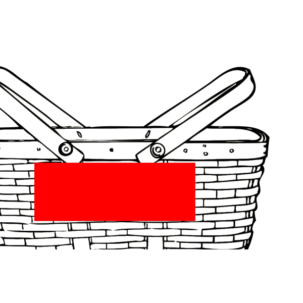 Quart Basket PNG image