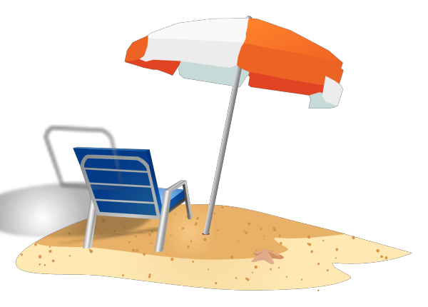 Beach Access White PNG Clip art