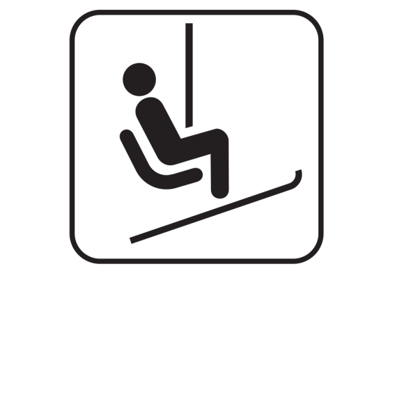 Chair Lift Ski Lift White PNG Clip art