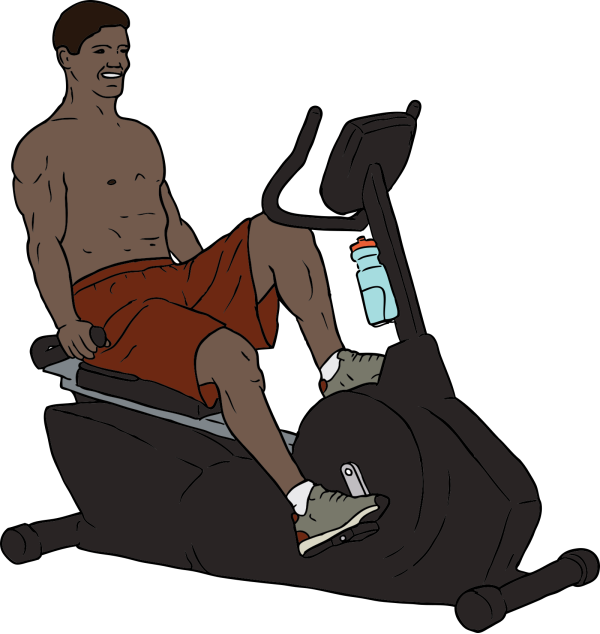 Exercise Fitness Black PNG Clip art