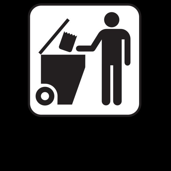 Trash Dumpster White PNG Clip art