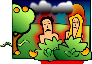 Adam Eve Sad PNG Clip art