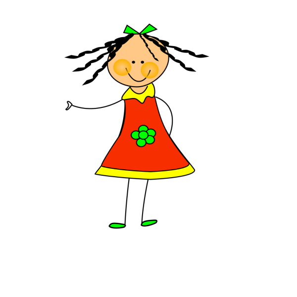 Little Doll PNG Clip art
