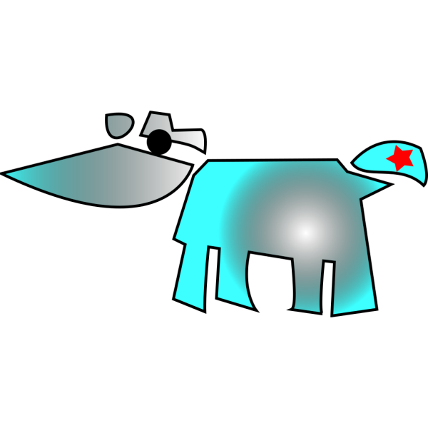 Cow And Star PNG Clip art