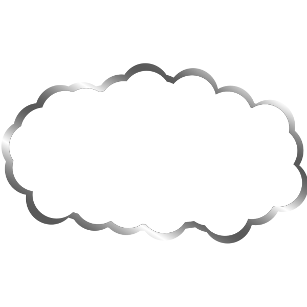 White Cloud PNG icons