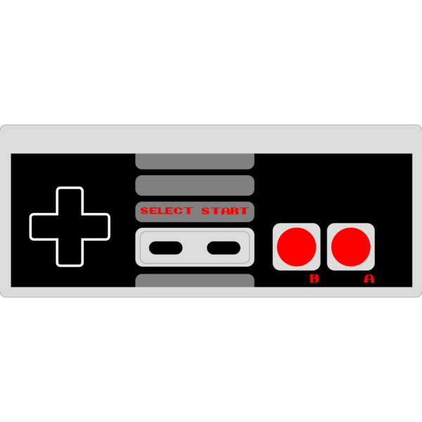Nes Controller PNG Clip art