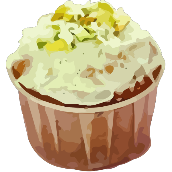 Small Cup Cake PNG Clip art