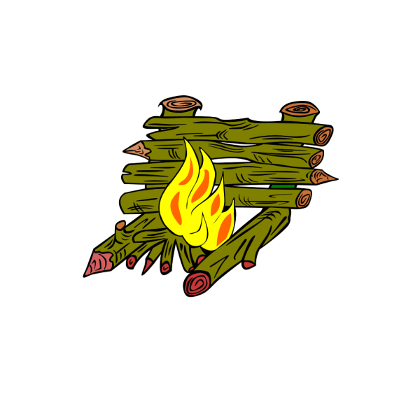 Fire Catching Wood PNG Clip art