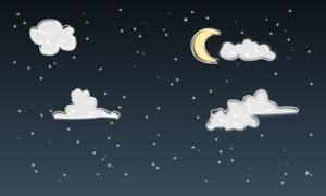 Stars In The Night Sky PNG Clip art