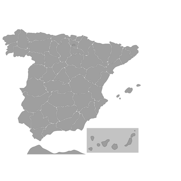 Map Of Spain PNG images