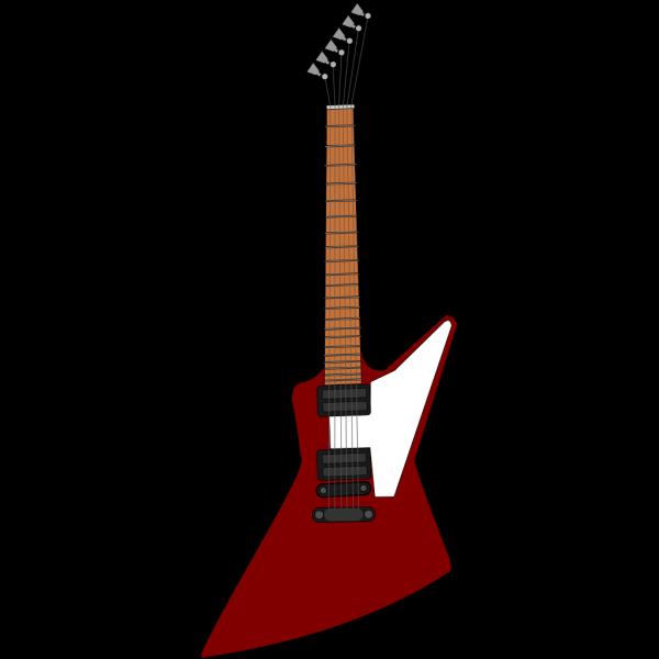 Gibson Explorer Guitar PNG Clip art