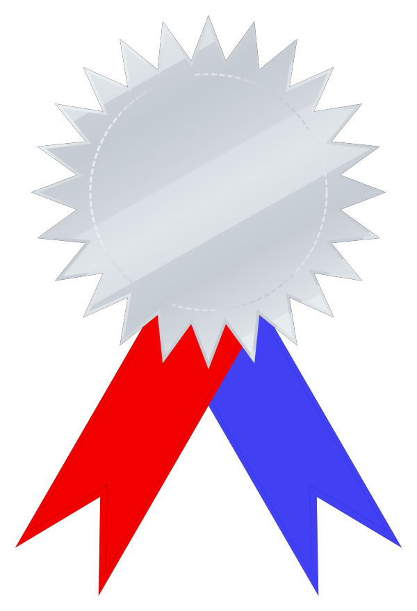 Certificate Medal Colored PNG Clip art