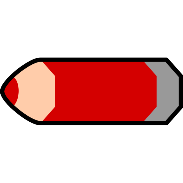 Red Pencil PNG Clip art