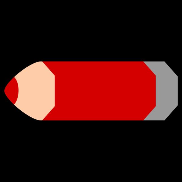 Red Pencil PNG Clip art