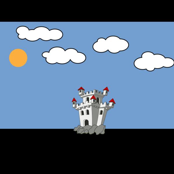 Cartoon Castle PNG Clip art