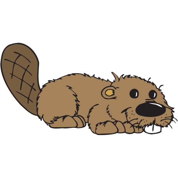 Cartoon Beaver PNG Clip art