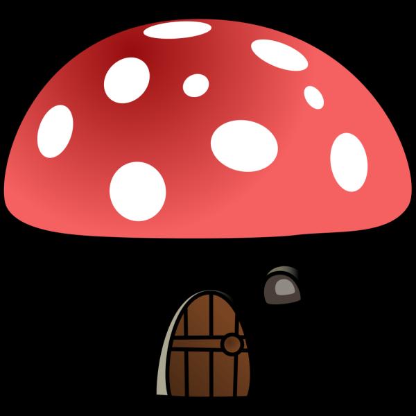 Mushroom House PNG Clip art
