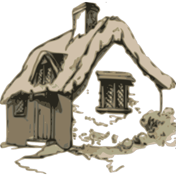 Witch Cottage PNG Clip art