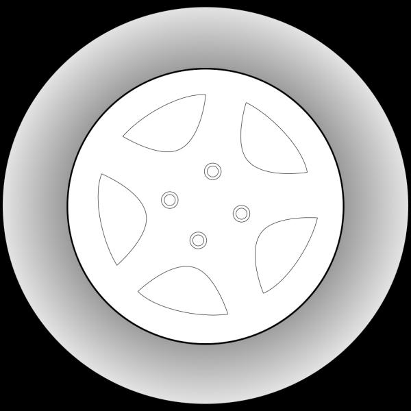Wheel Chrome Rims PNG Clip art