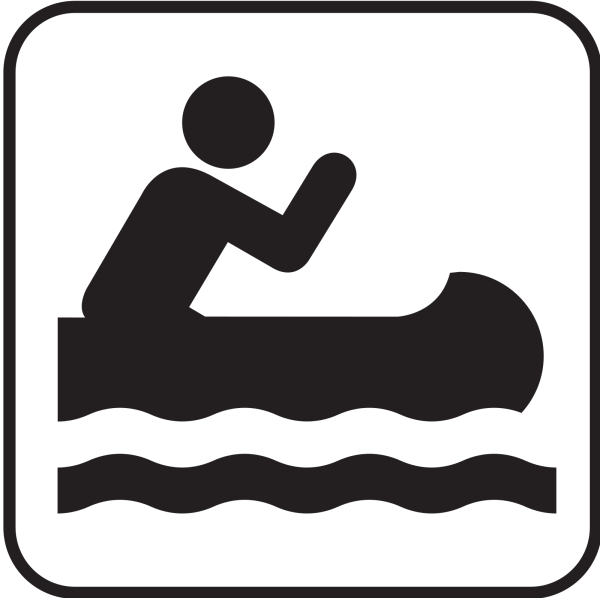 Canoeing PNG Clip art
