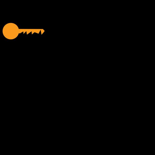 Golden Key PNG Clip art