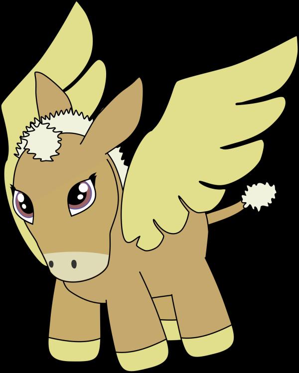 Donkey PNG Clip art