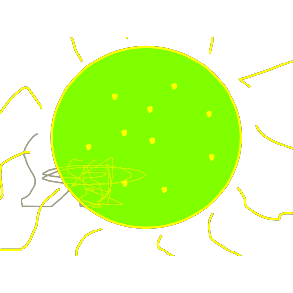 Blurred Sun PNG images