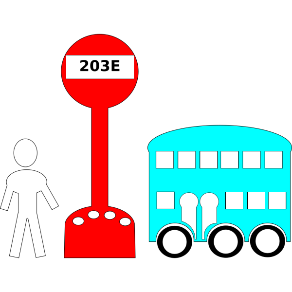 Bus Station Cartoon PNG Clip art