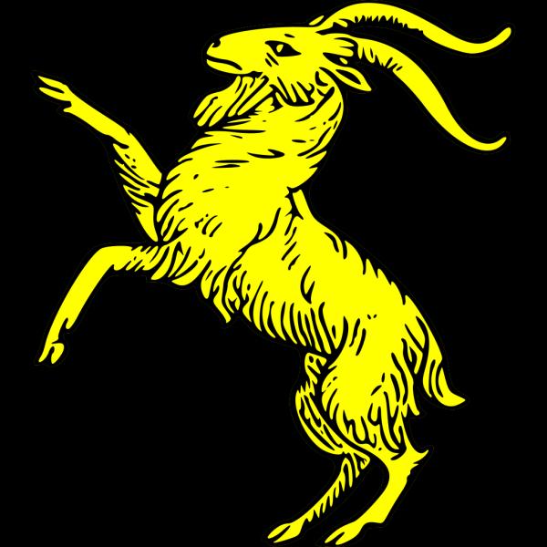 Goat Rampant PNG Clip art