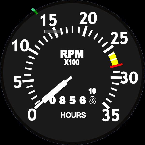 Tachometer PNG Clip art