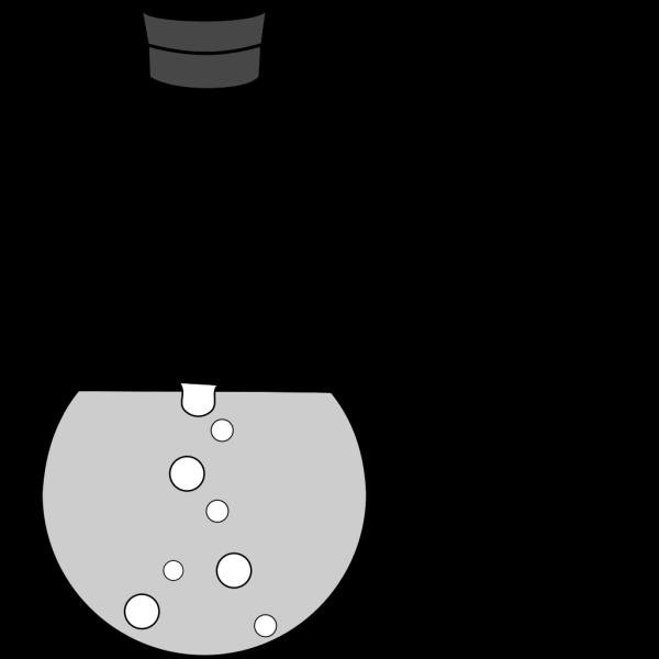 Distilling Flask  PNG Clip art