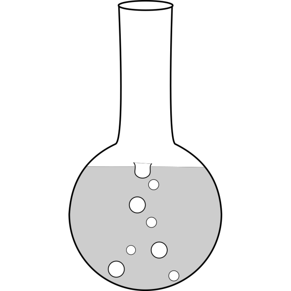 Round Boiling Flask PNG Clip art