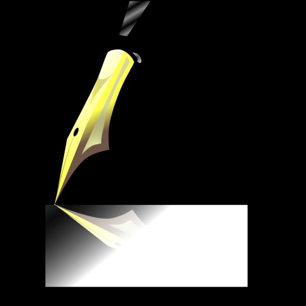 Ink Pen Tip PNG clipart
