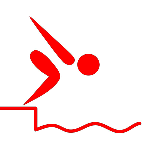Swan Swimming PNG image