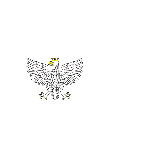 Eagle Wearing Crown PNG Clip art