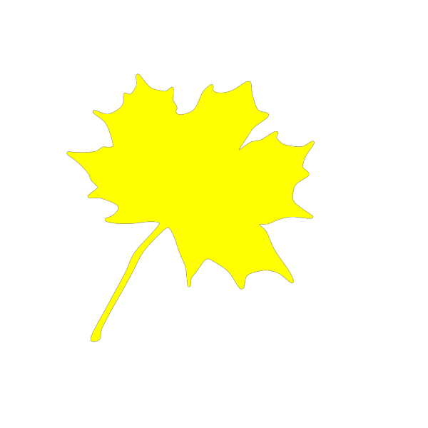 Yellow Leaf PNG Clip art