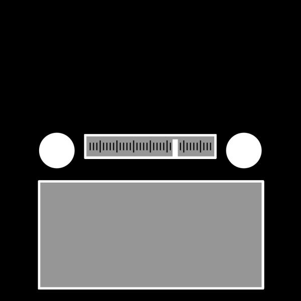 Radio Reciever PNG Clip art