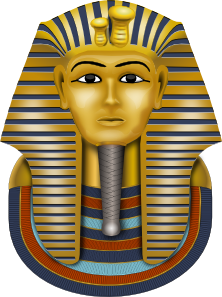 Golden Mask King Tut PNG Clip art